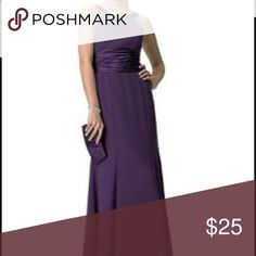 Davids bridal bridesmaid dress plum f12732 size 2 Worn once for a wedding, I had the inner seams let out a tad. Beautiful plum bridesmaids  dress, I just have no use for it! Bridesmaid dress plum purple fall dress. David's Bridal Dresses Wedding