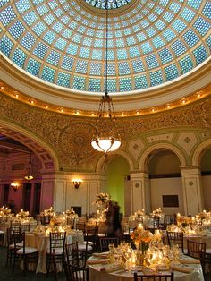 "chicago cultural center weddings | The Bean"" in Millennium Park:"