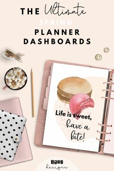 Upgrade your planners and binders with this gorgeously amazing, extraordinarily cute covers. I know organizing and planning is important but being cute is important too! At 3927designs you can find 20 different dashboards! Can you choose?
