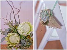 Erna Loock Photography: { Forever } Hanri + Jacques Part One Rustic Romance Wedding Aisle Decor Desert Rose