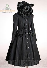 Sweet Gothic Lolita Thick Wool Catty Hood Coat*4colors... review at Kaboodle http://www.kaboodle.com/reviews/sweet-gothic-lolita-thick-wool-catty-hood-coat-4colors-instant-shipping