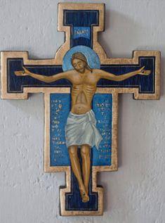 Krzyż franciszkański na Pamiątkę Chrztu Świętego