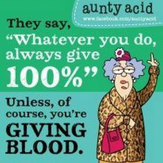 aunty acid quotes | Aunty Acid cartoons
