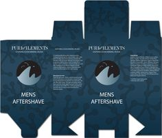 Mens aftershave box