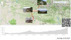 Ayerbe-Canfranc Estacion, in die Pyrenäen  Vollständiger Bericht bei: http://agu.li/1hM  Wieder eine richtige Passhöhe überquert. Dies, nachdem ich lange Zeit dem Rio Gallego gefolgt bin, der so viel Wasser führte, dass es sogar zu einem Stausee reichte. Später folgte dann noch der Aufstieg in Richtung Col du Somport, entlang dem Rio Aragon, der ebenfalls recht viel Wasser führt. Die Passhöhe habe ich mir hier aber für Morgen aufgespart. Das GPS registrierte: 85.51