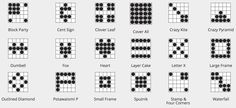 Mix it up. Use these great bingo patterns instead of the