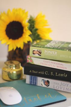 a list of favorite devotionals, by sarah tucker