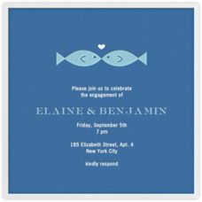 Fish Kiss, Jonathan Adler + Paperless Post