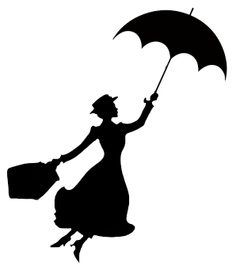 Marry Poppins - achtergrond kaart