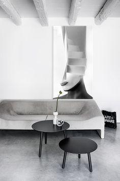 La escalera blanca
