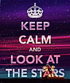 Of course, looking at the stars is above. Everything for me...its something about it...so relaxing and wonderful