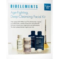 Bioelements Age Fighting Deep-Cleansing Facial Kit
