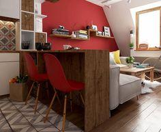 Proiect de amenajare pentru o garsonieră de 30 m²   Jurnal de design interior