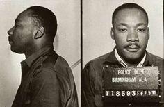 Martin Luthor King Mugshot