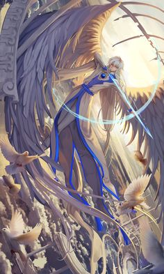 Interesting pic of Yue from the Card Captor Sakura anime and manga series by CLAMP. What do you think?