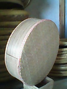 it is a tenong basket, 100% handmade from bamboo material.