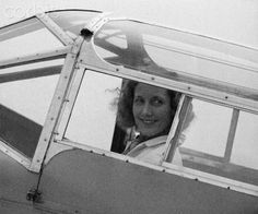 "Beryl Markham - She was the first person to fly solo across the Atlantic from east to west, British-born and raised in Kenya, she told her story in her acclaimed autobiography ""West with the Night"""