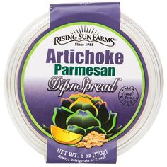 Rising Sun Farms Artichoke Parmesan Cheese Spread 6 oz.