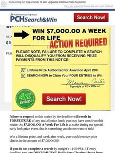 Milled is a search engine for email newsletters. Find sales, deals, coupons, and discount codes from retailers and brands. Lotto Winning Numbers, Winning Lotto, Lottery Winner, Instant Win Sweepstakes, Online Sweepstakes, Newsletter Names, 2019 Ford Explorer, Win For Life, Publisher Clearing House