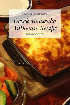 Greek Moussaka Authentic Recipe You'll Love This Authentic Greek Moussaka Recipe Moussaka Recipe Greek, Moussaka Recipe Potato, Mousaka Recipe, Paella, Greek Potatoes, Meat Sauce Recipes, Greek Dishes, Recipes, Rice