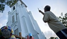 12 Emotional Images Show the First Post-Shooting Sunday Service at Charleston Church