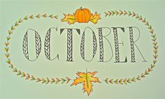 October by {theuncommonplace} on Flickr.