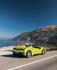 Big Sur, California Ferrari, Mustang Tuning, Cafe Racer Honda, Cool Sports Cars, Big Sur, Car Car, Super Cars, Dads, California