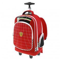 Ferrari Store: Kids Ferrari Shield Backpack Trolley. Shopping online the official Ferrari Store and buy Kids Ferrari Shield Backpack Trolley safely in just few easy steps.