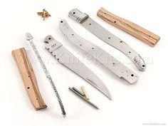 Laguiole Folder - Slipjoint - Parts Kit