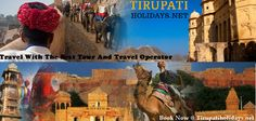 Travel With The Best Tour And Travel Operator With Ease - #Travel with the operators of #Tirupatiholidays on your journey to any of the selected #Tour_Packages. Our tour operators have much experience in travel location and customer handling. All our #Tour_Operators are well versed in multi lingual and expert in tackling difficult situation. For booking this Tour Package or for any other details contact us at http://www.tirupatiholidays.net/blog/