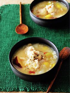 疲れた体をじんわり癒す、韓国風のやさしいお粥。|『ELLE a table』はおしゃれで簡単なレシピが満載!