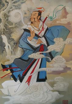 lu dongbin | Lü Dongbin One of the eight immortals, went to the mountains to seek the Dao and achieve immortality.