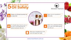 The 5 Rules of Essential Oil Safety...Moon Haven Style