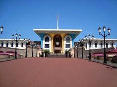The Palace of the Sultan of Oman
