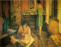 15 Paintings and sculptures by women artists http://designmuitomais.blogspot.com.br/2015/03/15-pinturas-e-esculturas-de-mulheres.html