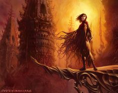 """Vin, Mistborn. For Brandon Sanderson's """"Final Empire"""" upcoming special leather-bound edition."""