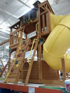 Cedar Summit playset from Costco...I think we're gonna get it!