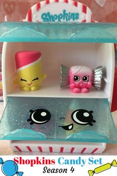 This is the Season 4 Shopkins Candy Set - Read Our Review and SEE OUR PICTURES!