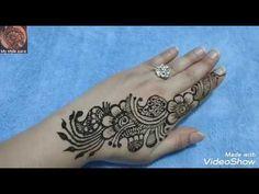 Mehndi Designs, Short Mehndi Design, Mehndi Tattoo, Henna, Bell Button, Mehendi, Tattoos, Youtube, Tatuajes