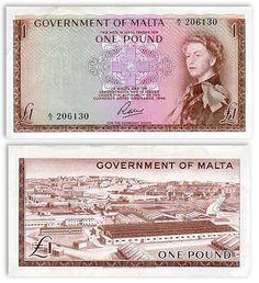 Malta  1 Pound L.1949(1963)