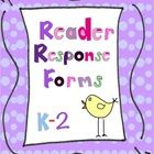 Supports Common Core!  48 forms in all for these Reading Comprehension Strategies:  Determining Importance  Inferring Schema/Making Connections Que...