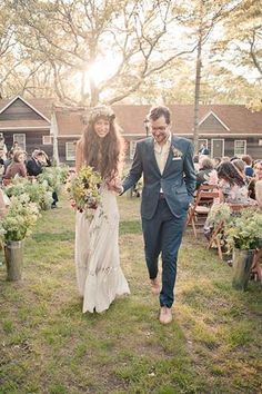 """Wedding dos and don'ts from 22 REAL couples!    http://www.refinery29.com/wedding-tips#slide12    DON'T """"...get nail art for your wedding. Let's draw the line somewhere…""""— Pamela Love &  Matthew Nelson, married May '12    Photo: Gary Ashley"""