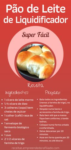 Veggie Recipes, Bread Recipes, Sweet Recipes, Confort Food, Good Food, Yummy Food, Portuguese Recipes, Easy Cooking, Food Inspiration