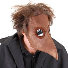 The Black Plague, also known as the bubonic plague and the black death, was one of the most devastating events in western history. If this is the look you seek, then this Plague Doctor mask is for you.