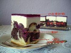 Ciasto Czerwony Kapturek z wiśniami Tiramisu, Cheesecake, Food And Drink, Menu, Pudding, Fruit, Ethnic Recipes, Cakes, Polish