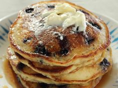 Trisha Yearwood Recipes | Blueberry Pancakes Recipe : Trisha Yearwood : Recipes : Food Network