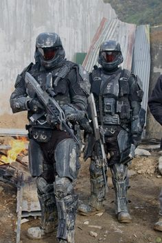 Futuristic Soldiers, Armor, Future, Military, Weapons