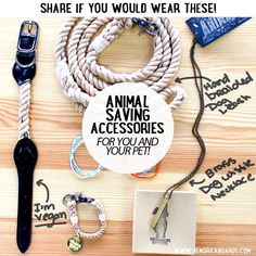 Not only are these accessories vegan, green, hand created, solid brass beach and every one triggers a donation to a network of over 350 animal saving nonprofits!   HendrickBoards.com