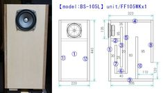 [ DIY - Original Back Loaded Horn Enclosure Plans ] ---Enclosure Designs & Frequency Response Data--- >Staggered Dual & Triple Back Loaded Horn >Single Back Loaded Horn Diy Bookshelf Speakers, Diy Speakers, Diy Original, Diy Boombox, Klipsch Speakers, Speaker Plans, Speaker Box Design, Horn Speakers, Phone Hacks