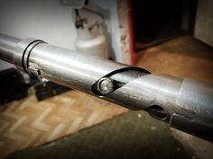 homemade internal gas throttle - works well! #honda #cx500 #just #caferacer
